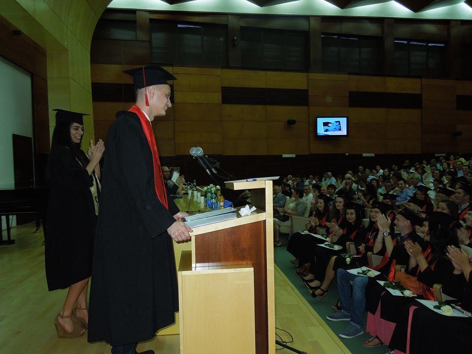 Absolvirea facultatii - unul din cele mai frumoase momente din viata mea