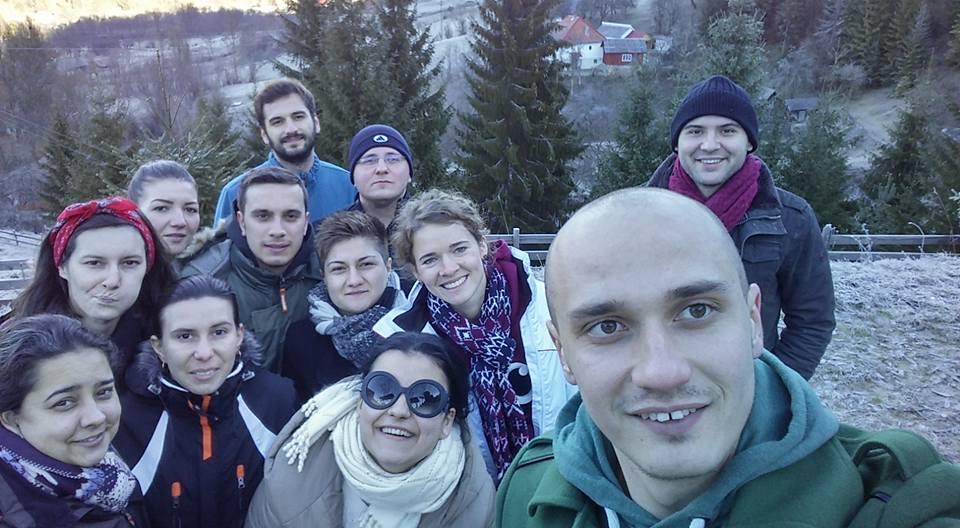 Vacanta de iarna cu colegi de la facultate