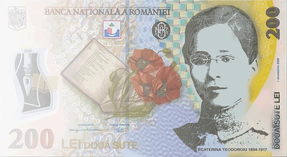 200RON-Ecaterina-Teodoroiu