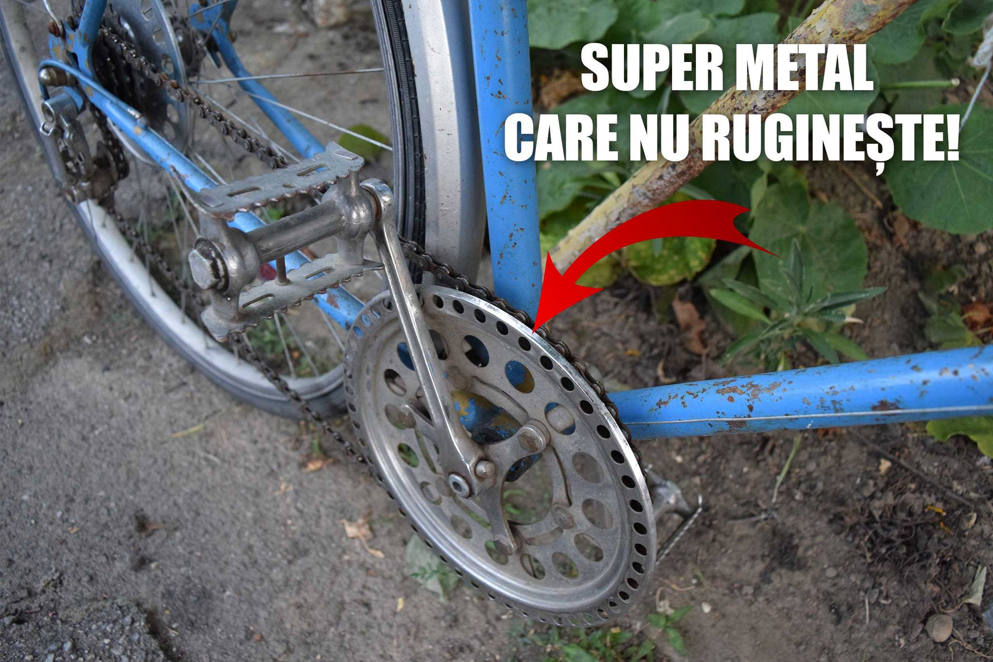 Bicicleta super metal care nu rugineste - Toma Grozavescu